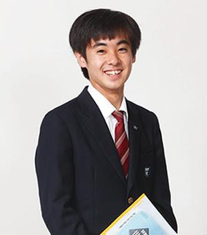 渡邊 壮真 さん|スーパー特進コース3年/(頴田中学校 出身)