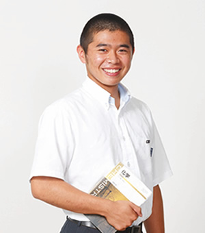 早瀬 楓 さん|特別進学コース3年/(飯塚第二中学校 出身)