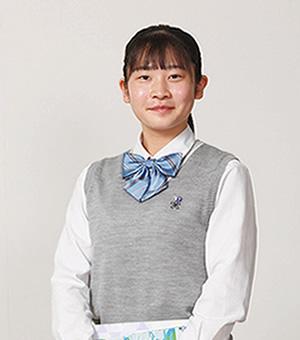 黒岩 美羽 さん|進学コース2年/(直方第三中学校 出身)