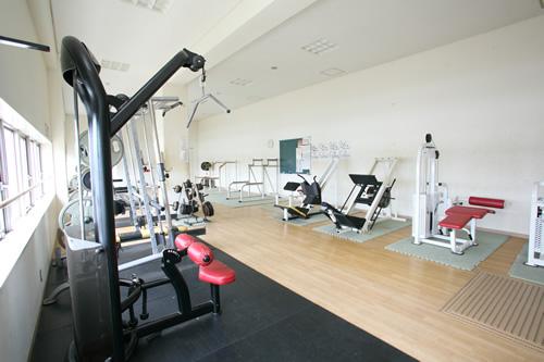 トレーニングルームの画像